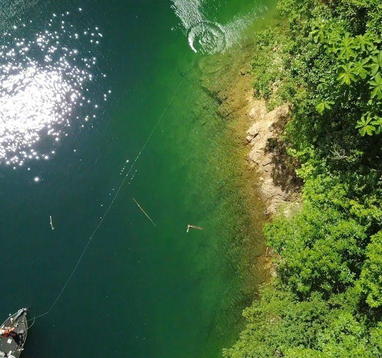 釣り人なら1度は来るべき秘境でトップウォーターフィッシング