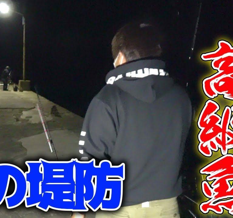 夜の堤防で入れ食いになった高級魚とは・・・