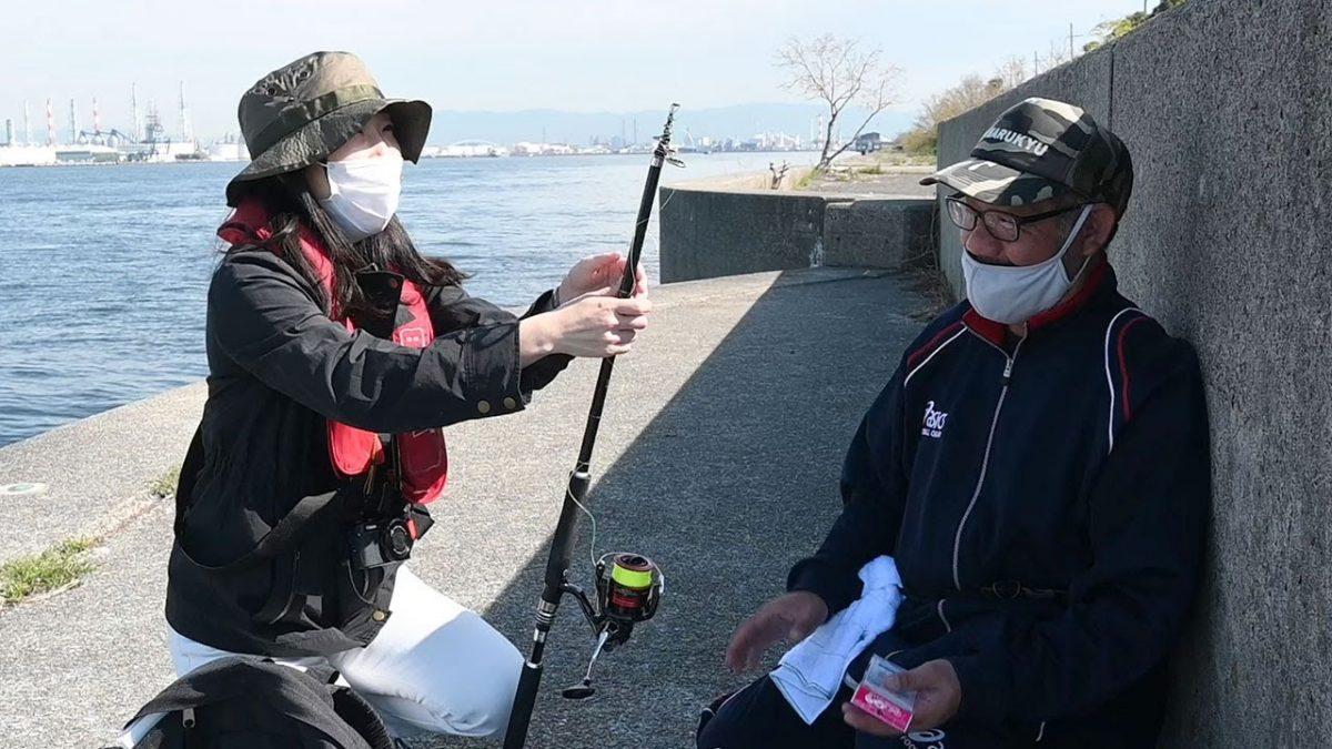 初心者の記者が釣りに初挑戦!