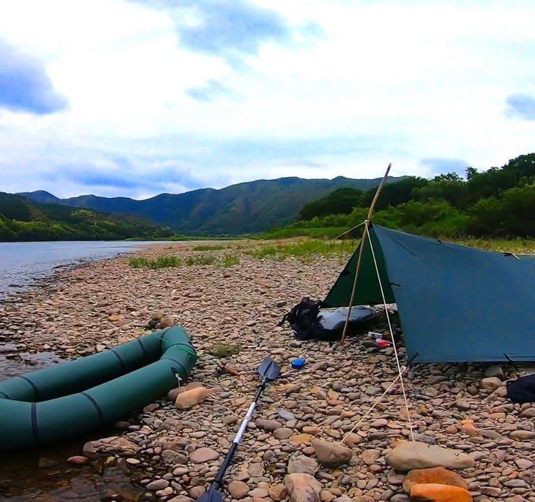 日本最後の清流で釣りキャンプしたよ!【皐月鱒を釣りたいシリーズ第一回】